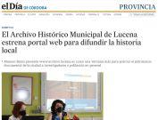 El Archivo Histórico Municipal de Lucena estrena portal web para difundir la historia local