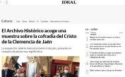 El Archivo Histórico acoge una muestra sobre la cofradía del Cristo de la Clemencia de Jaén
