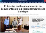 El Archivo recibe una donación de documentos de la prisión del Castillo de Santiago