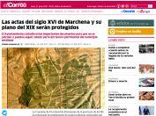 Las actas del siglo XVI de Marchena y su plano del XIX serán protegidos