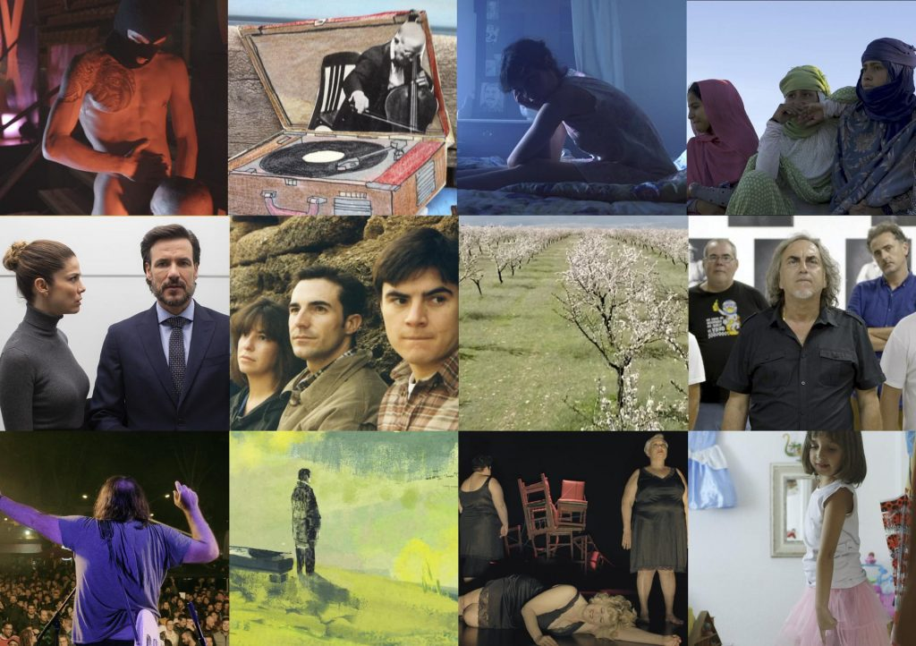 Panorma Andaluz: 12 largometrajes