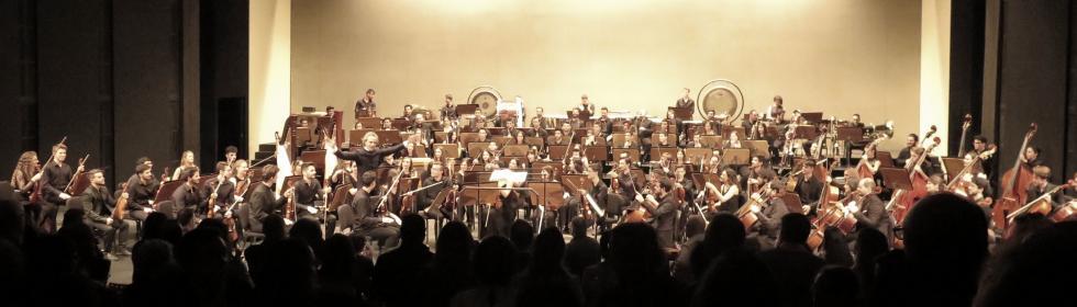 La Orquesta Joven de Andalucía en el Teatro Maestranza de Sevilla. Abril 2018 @Foto: María Marí-Pérez