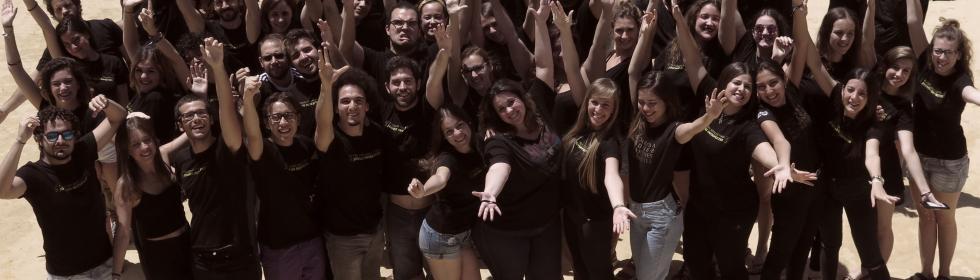 El Joven Coro de Andalucía. Julio 2017@María Marí-Pérez