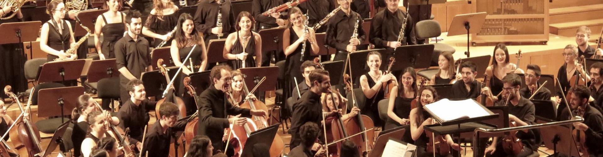 La Orquesta Joven de Andalucía en el Auditorio Manuel de Falla de Granada. 8 julio 2017 @María Marí-Pérez