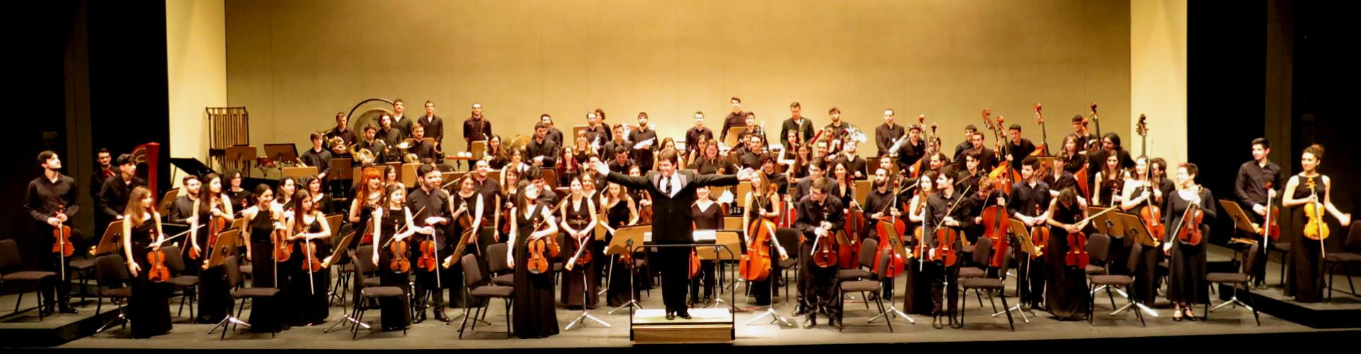 La Orquesta Joven de Andalucía en el Teatro Maestranza de Sevilla. Marzo 2016 @Foto: María Marí-Pérez