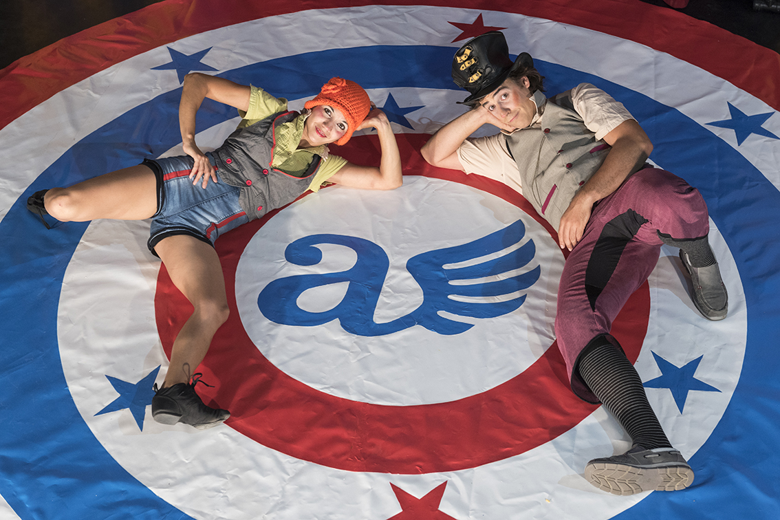 Imagen del espectáculo - Circo alas (calle)