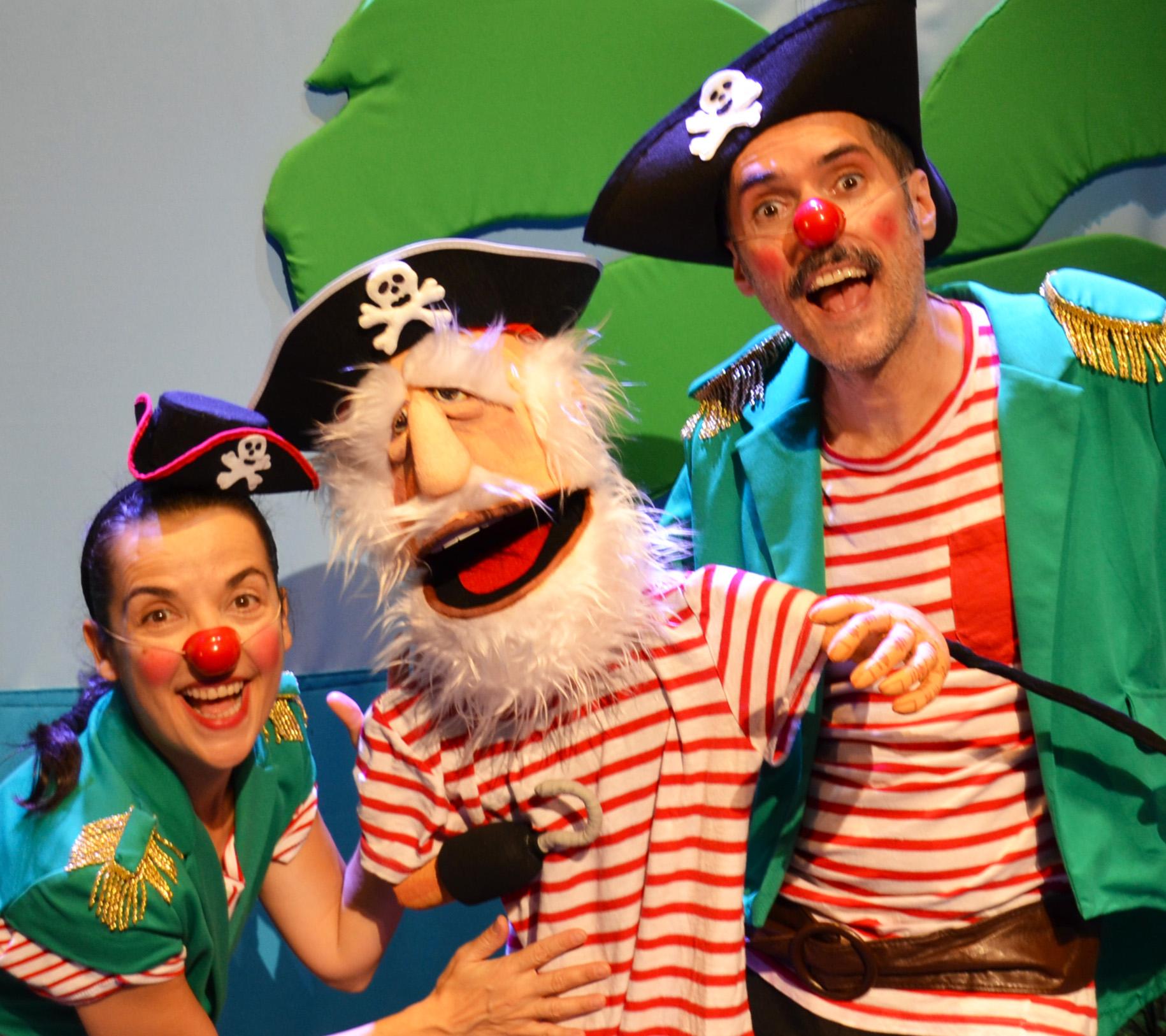 imagen del espectáculo - La Panda Pirata