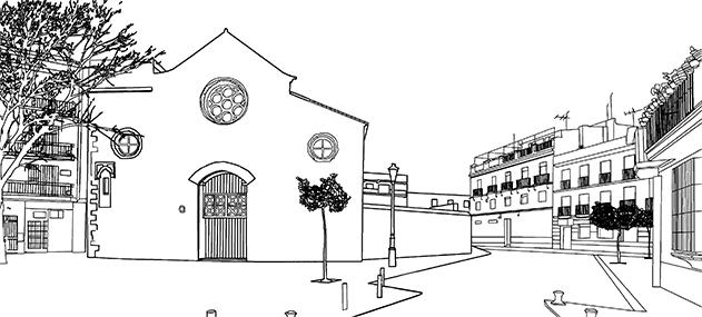 imagen boceto del centro CDAEA
