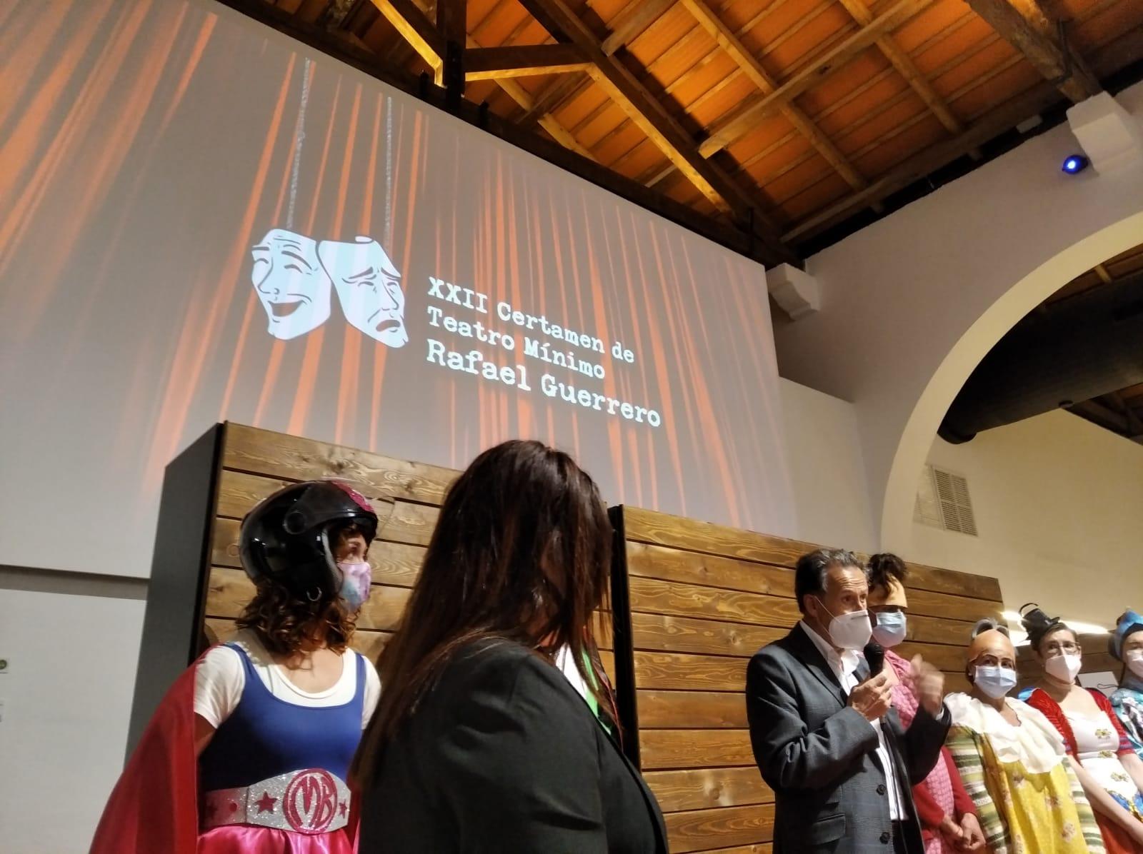 Ganadores XXII Certamen Teatro Mínimo Rafael Guerrero