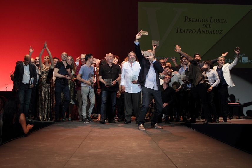 Gala de los V Premios Lorca / Teatro Central / fotografía #CDAEA Cristian García