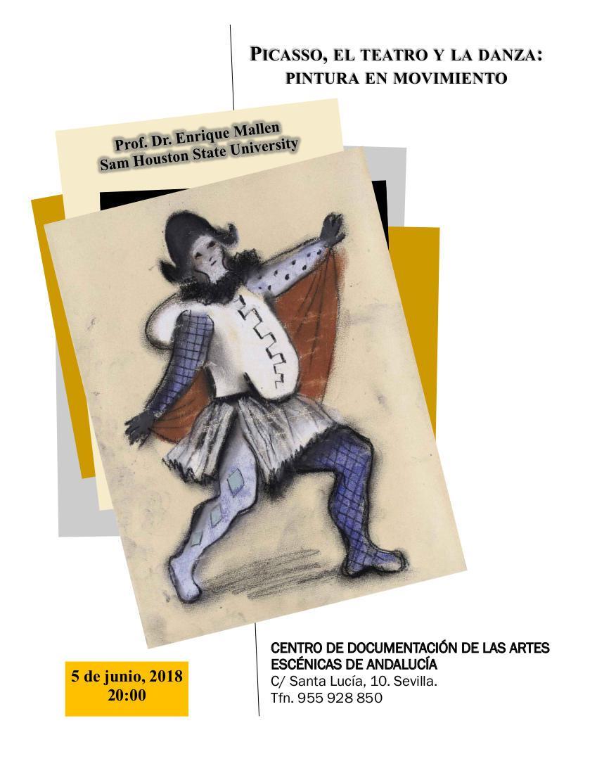 Picasso, el teatrro y la danza: pintura en movimiento