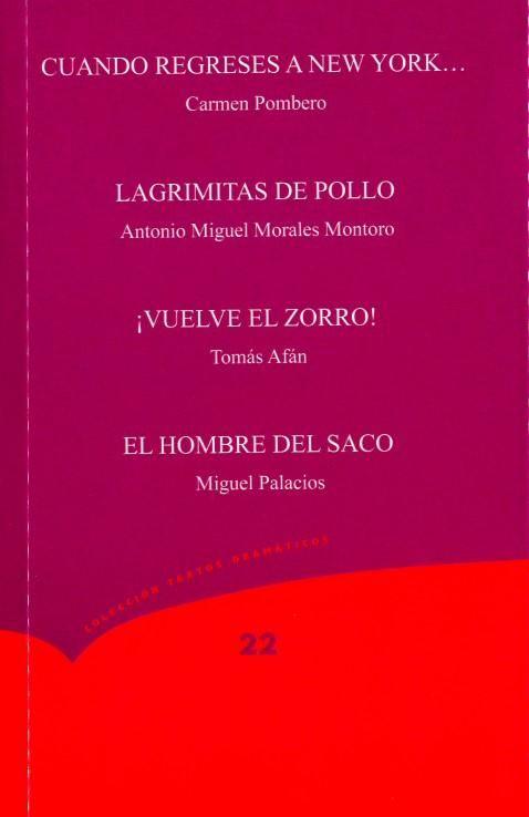 Presentación del n.º 22 de la Colección Textos Dramáticos del CIRAE