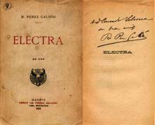 """""""Electra"""" Fondo Ismael Sánchez Estéban"""