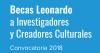 Becas Leonardo a Investigadores y Creadores Culturales 2018