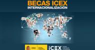 Becas Internacionalización Empresarial ICEX 2021