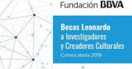 Becas Leonardo para Investigadores y Creadores Culturales