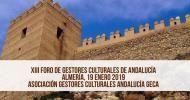 XIII Foro de Gestores Culturales de Andalucía