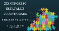 """XIX Congreso Estatal de Voluntariado """"Sumando Voluntad"""""""