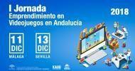 Andalucía Emprende celebra dos jornadas de emprendimiento en videojuegos