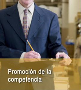 Promocion de la competencia