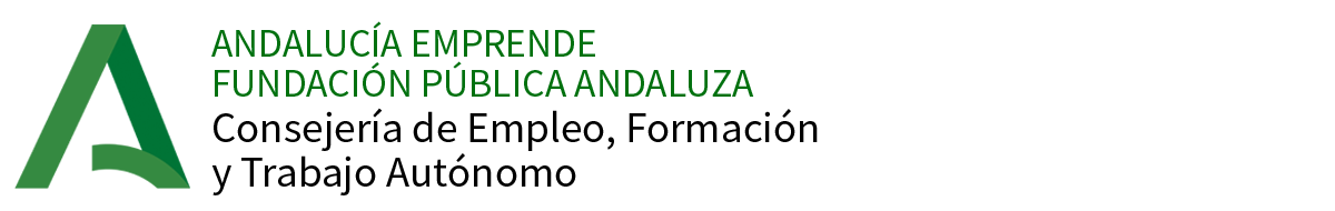 Logo de Andalucía Emprende 2020