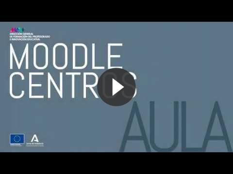 Captura vídeo Moodle Centros