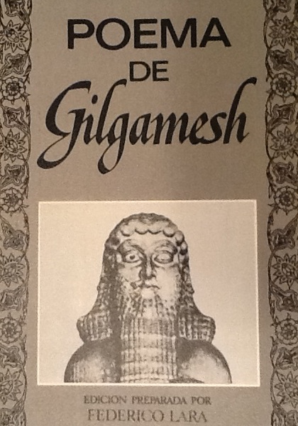 Portada del Poema de Gilgamesh