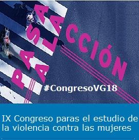 Cartel IX Congreso Violencia contra las Mujeres