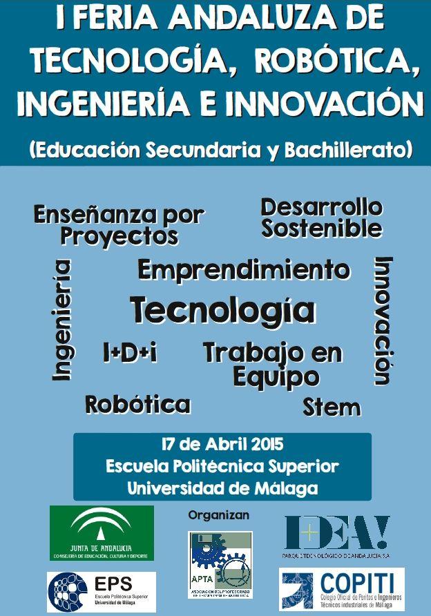 I Feria Andaluza de Tecnología, Robótica, Ingeniería e Innovación (feria-imagen.jpg)