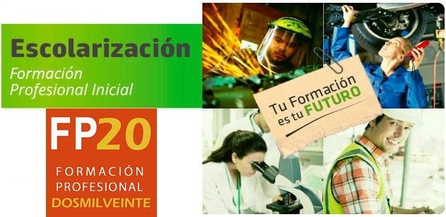 Escolarización FP 20/21