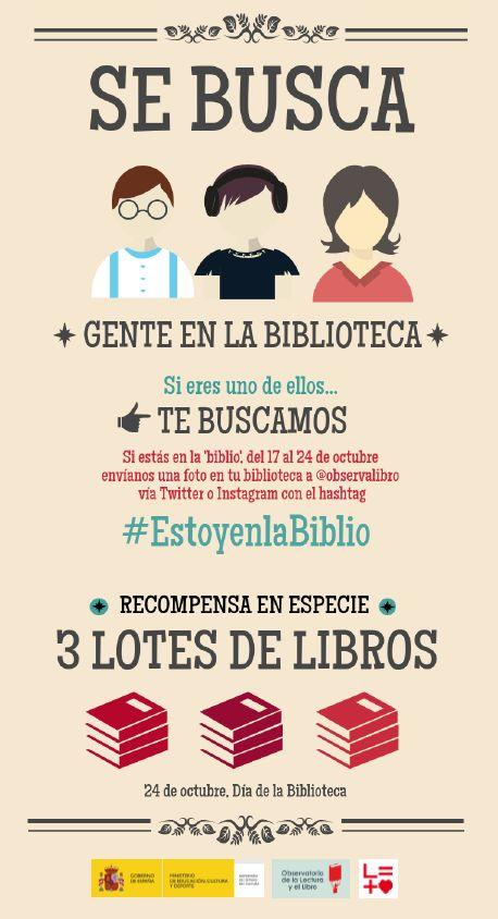 #EstoyenlaBiblio