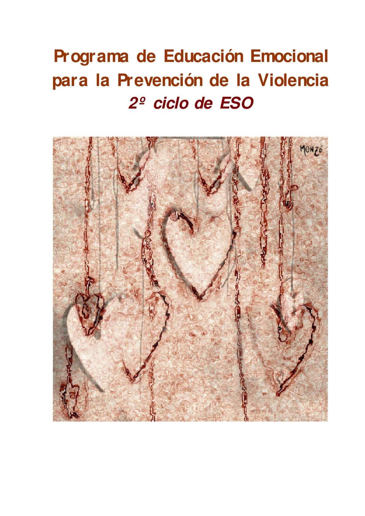 Educación Emocional ESO2