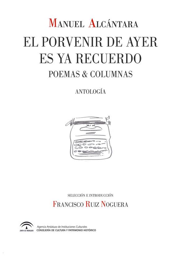Manuel Alcantara. Antologia