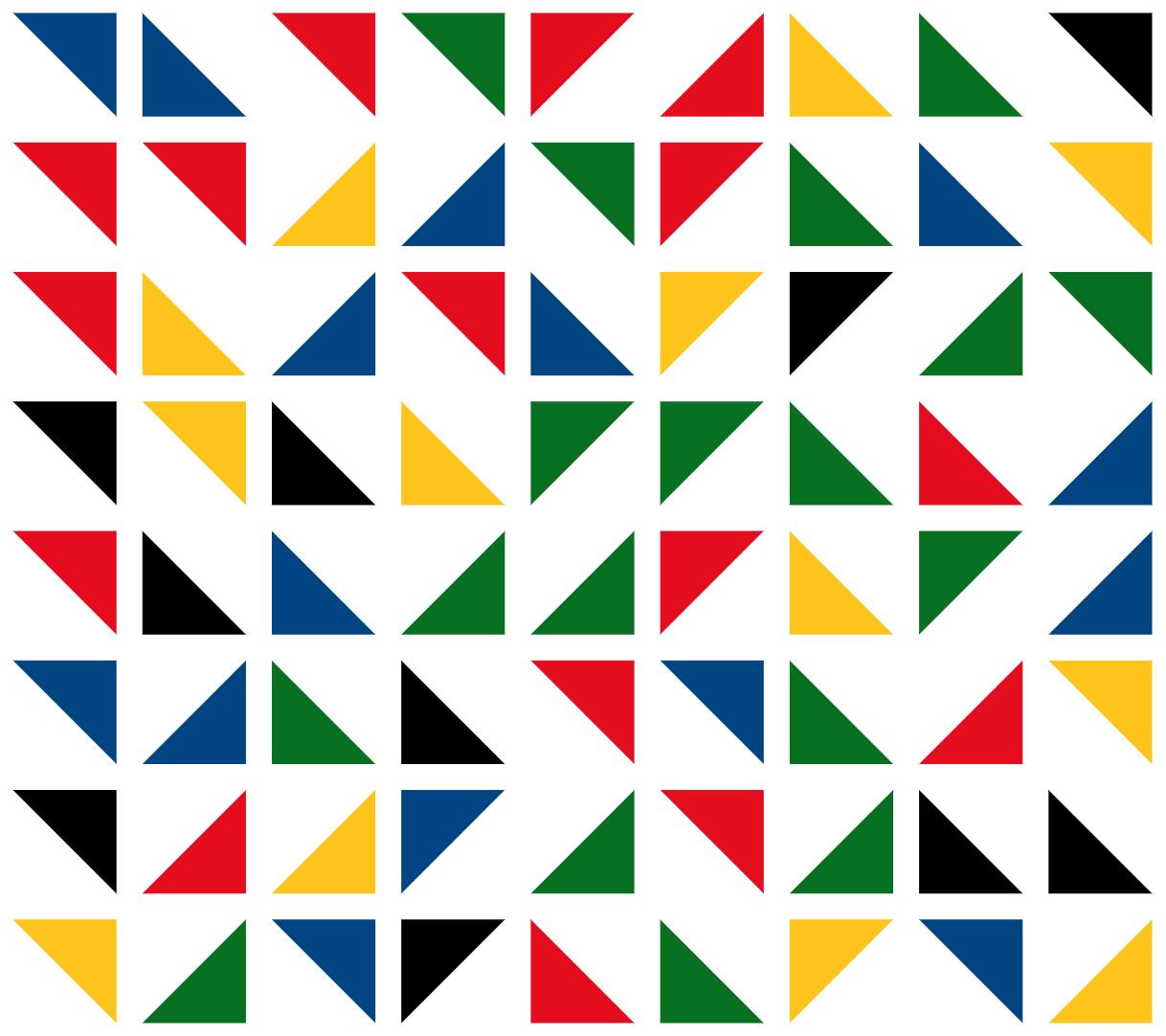 Fondo cabecera triángulos