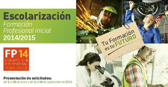 Escolarización FP 2014-15