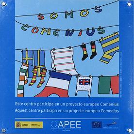 Enlace a la página de Oapee, Comenius