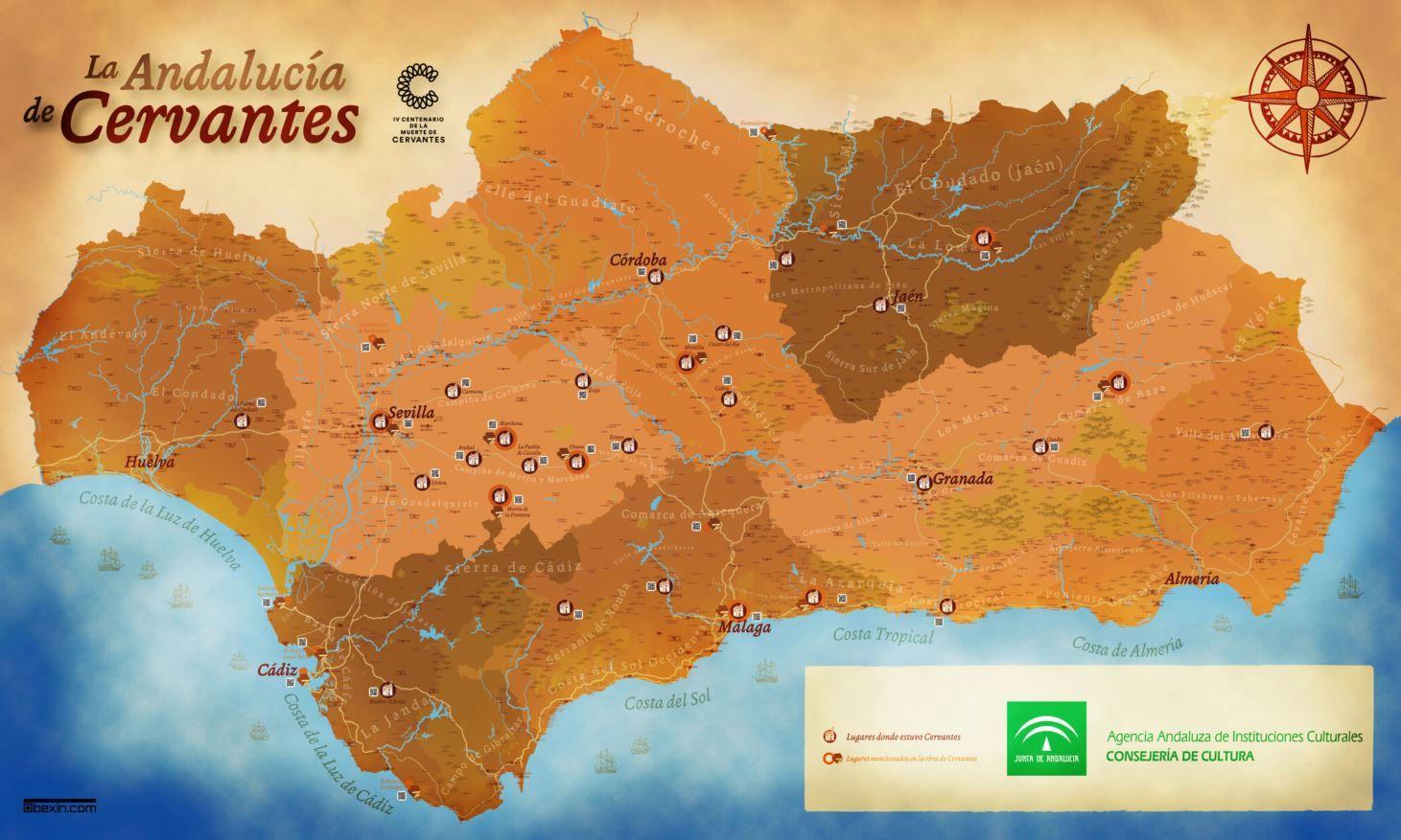 La Andalucía de Cervantes