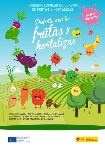 Plan Escolar de Consumo de Frutas y Hortalizas