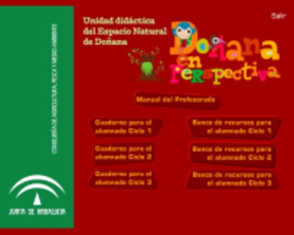 Unidad didáctica del Espacio Natural de Doñana