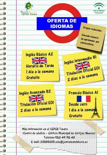 Oferta de Idiomas