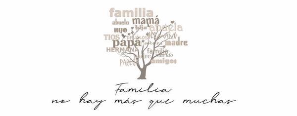 Familias no hay más que muchas