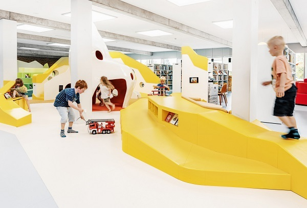 Biblioteca Infantil de Billund. Rosan Bosch