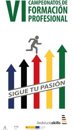 Cartel Andalucía Skills 2021 - sin logos