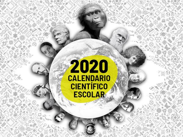 Portada Calendario Científico Escolar - 2020 (calendario_portada.jpg)