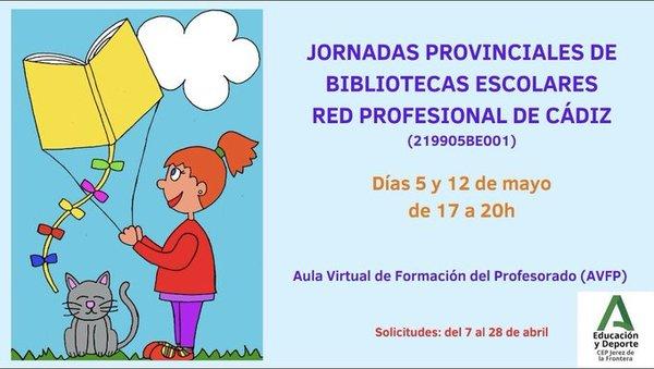 Jornadas Provinciales de la Red de Bibliotecas Escolares