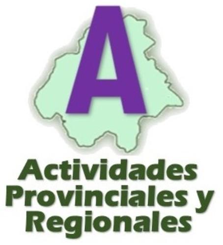 Actividades Provinciales y Regionales