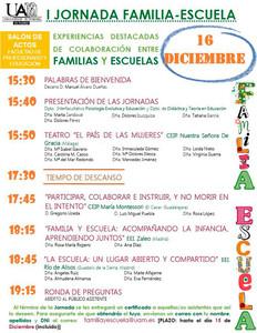 Programa_I Jornada Familia - Escuela_Madrid