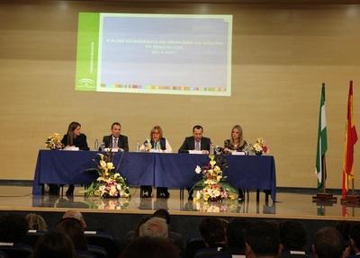 Adelaida de la Calle presentando el II Plan Estratégico de Igualdad de Género en la Educación