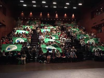 imagen Centros Galardonados con la Bandera Verde 2017