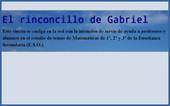 Banner_El rinconcillo de Gabriel